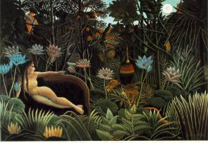 ":""the dream"" - perhaps rousseau's most famous piece:"