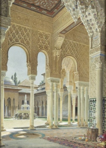 :moorish mosque in granada: