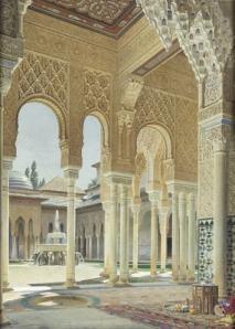 :moorish mosque in granada: