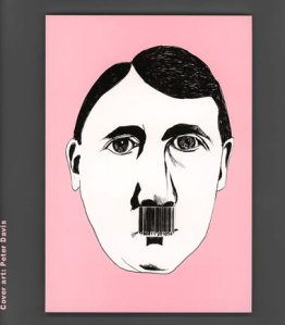 ":the cover of ""hitler's mustache"" by peter davis:"