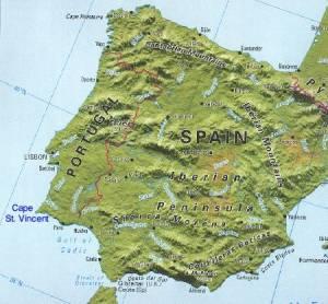 :the rectangular iberian peninsula: