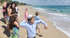 ":jews throwing bread into the water to cast out their sins. aka ""tashlich."":"