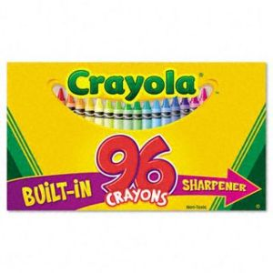 :celebrated 96 king-size box - with built in sharpener!: