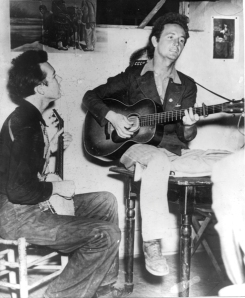 :pete and woody in 1940: