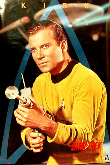 :captain james t. kirk, commander of the uss enterprise: