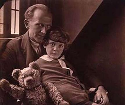 :christopher robin, winnie-the-pooh and aa milne: