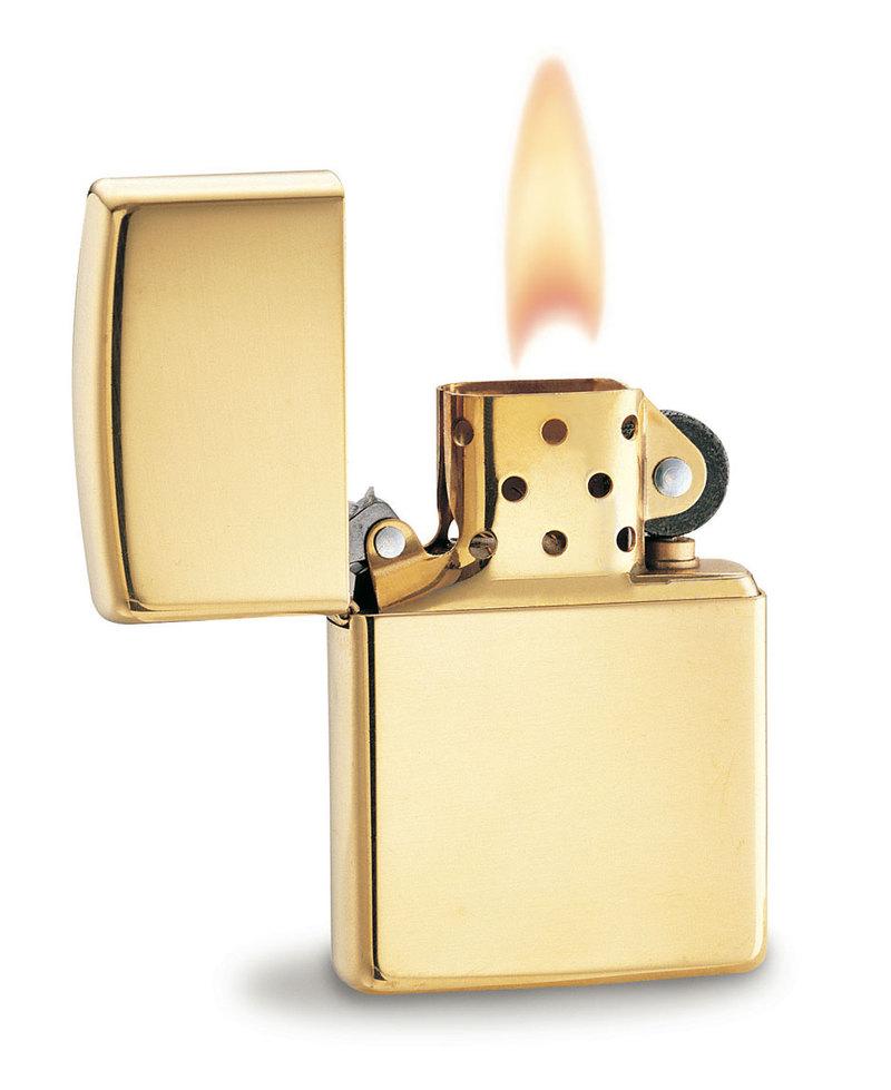 64. Zippo Lighters