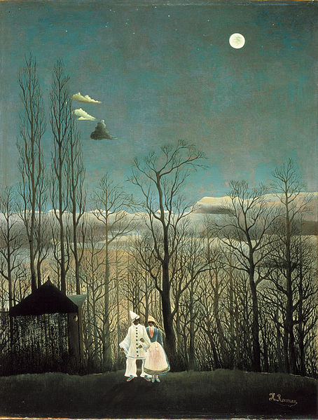 """A Carnival Evening,"" my personal favorite by Rousseau"