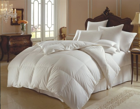 Not MY down comforter, but A down comforter.