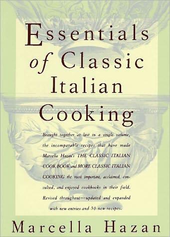 Marcella Hazan's brilliant cookbook.